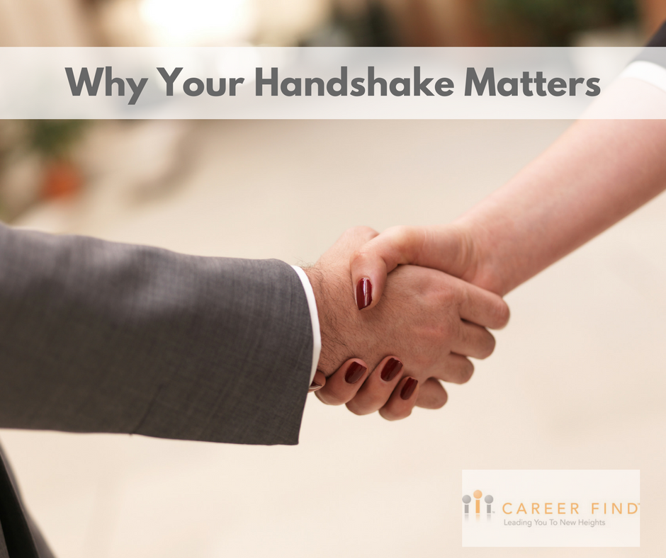 Your Handshake matters