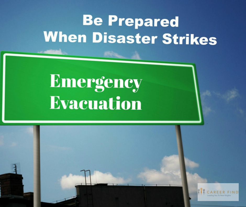 Prepared When Disaster Strikes
