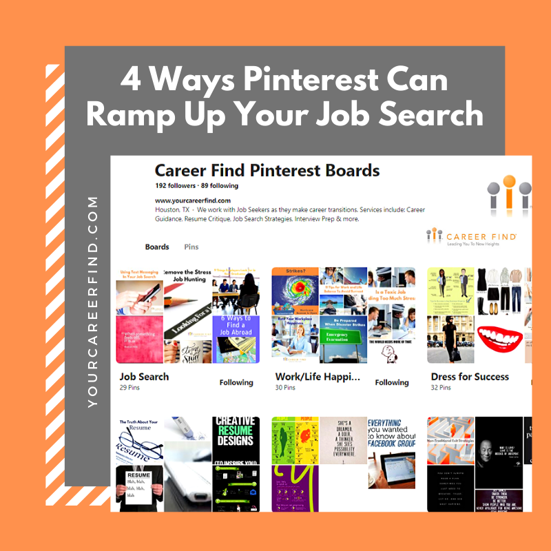 Pinterest For Your Job Search
