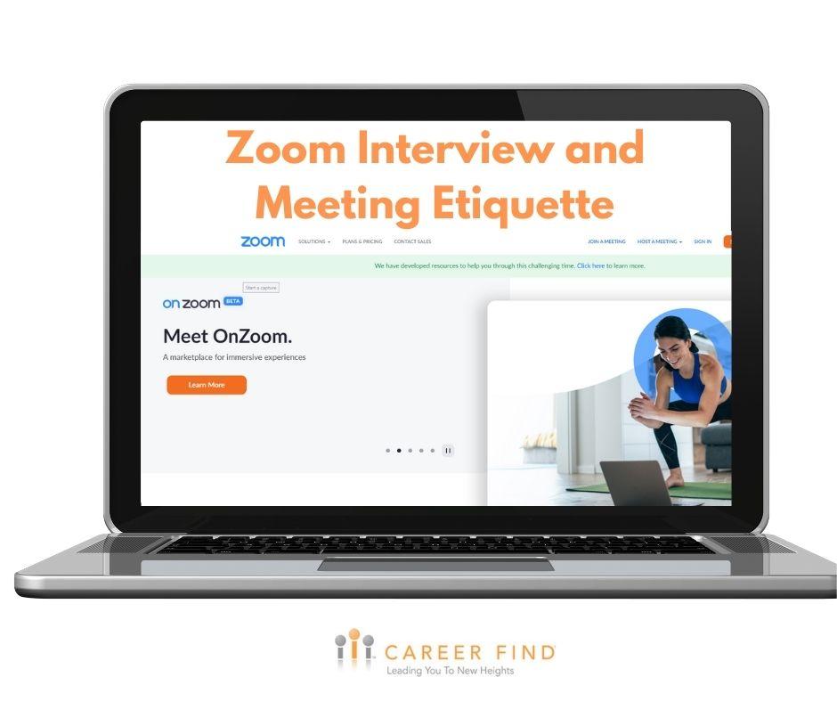 zoom interview etiquette
